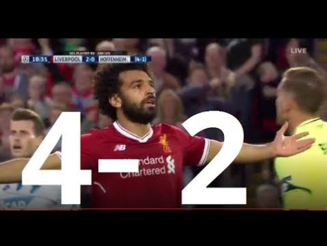 [Video] Liverpool vs Hoffenheim 4 – 2 (6-3) – Highlight – UEFA Champions League 23/08/2017