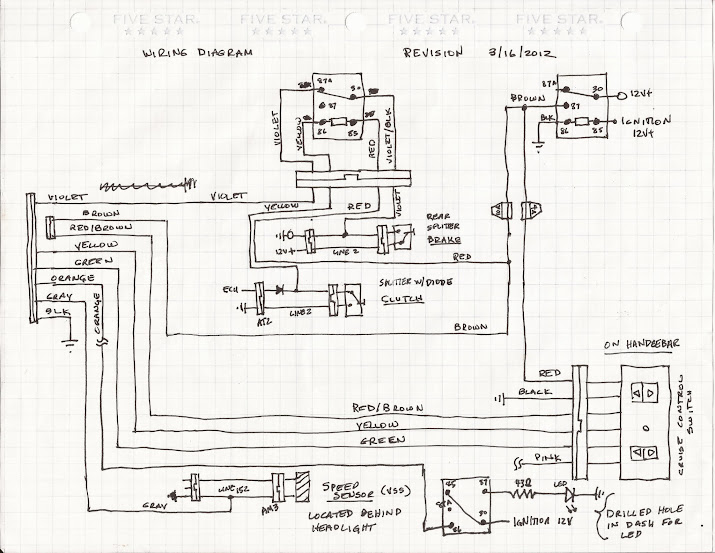 first time ever i think electronic cruise on my 990 page 2 here are my wiring diagrams