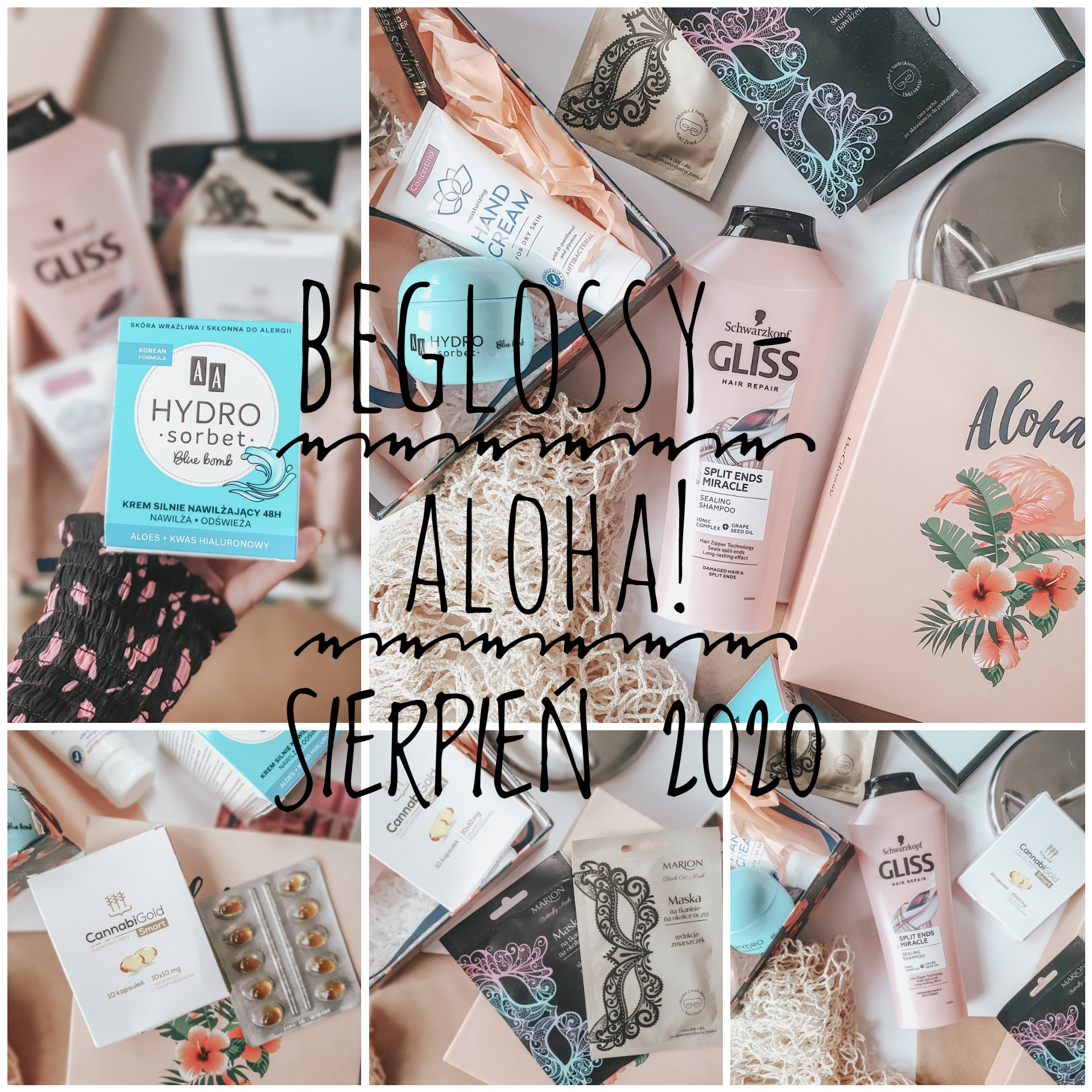 BeGlossy - Aloha! Co znalazło się w sierpniowym pudełku?