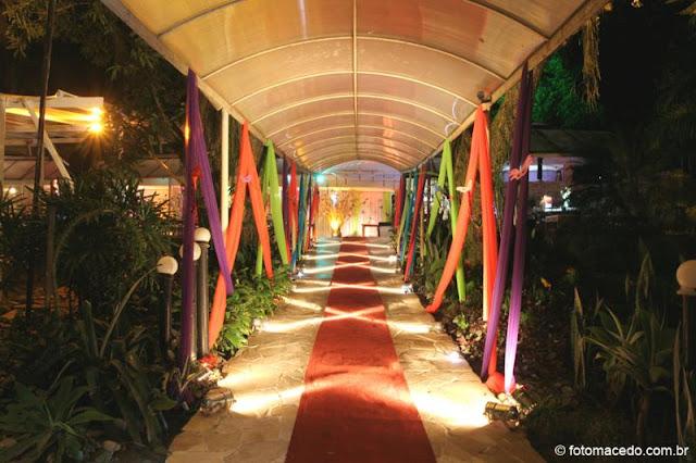 Festa à fantasia decoração