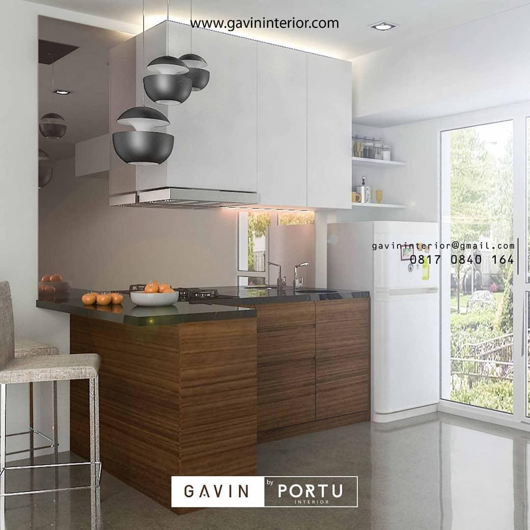 furniture dapur ruang terbuka