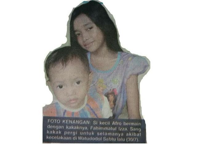 Anak Yang Menjadi Korban Meninggal Dalam Kecelakaan di Watudodol Yang Kemunduran Truk Semen Terkenal Pintar dan Hafal 3 Juz Al-Qur'an