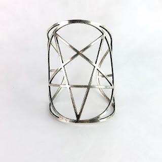 Pamela Love Pentagram Cuff Bracelet