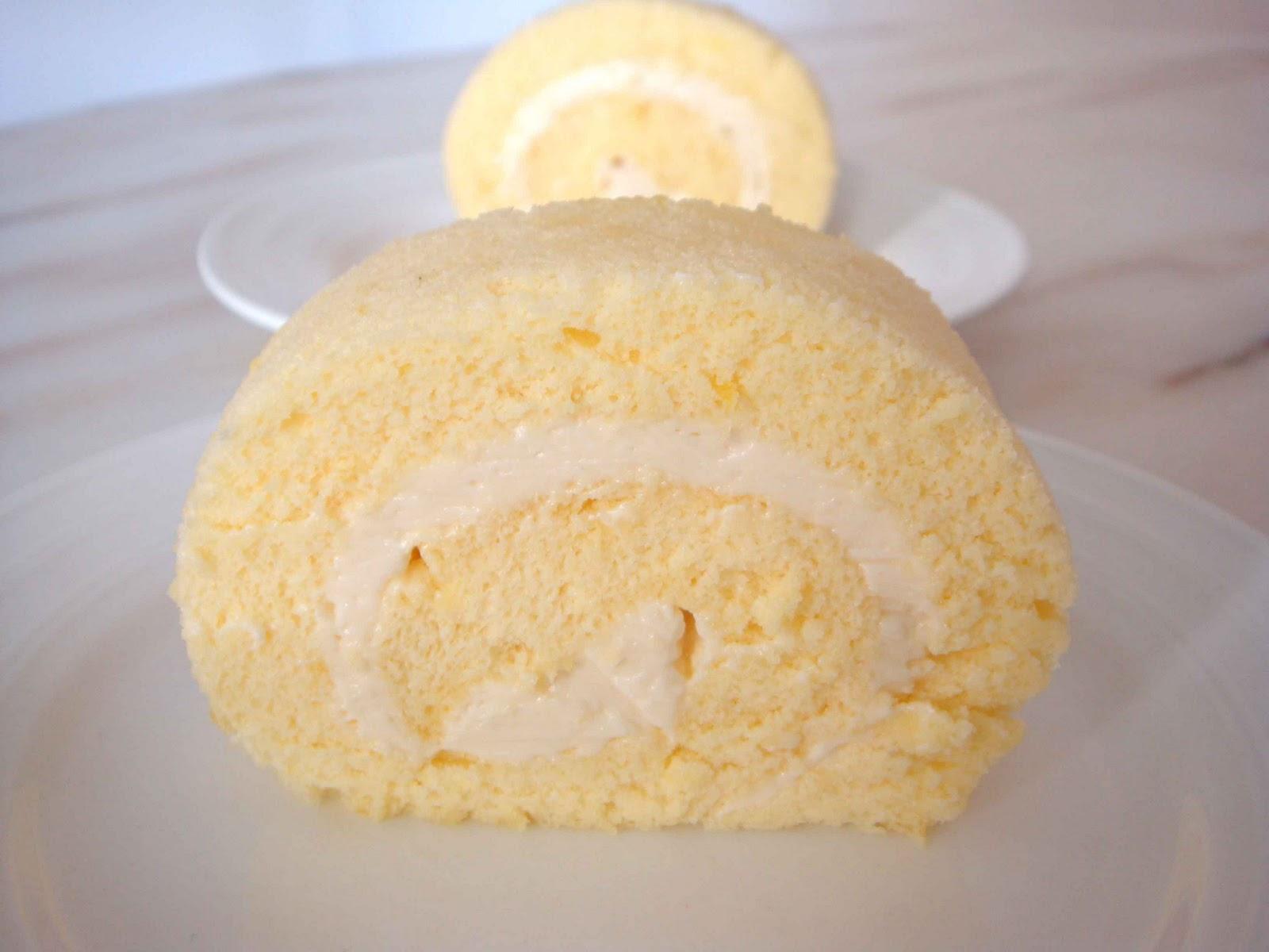 Lemon Chiffon Cake Roll Recipe
