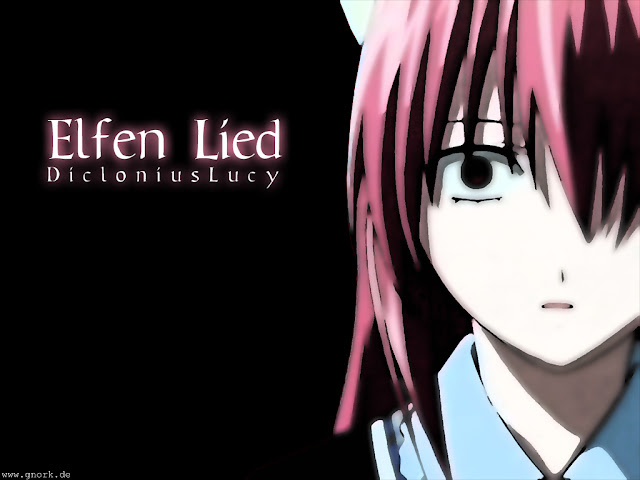 Lucy Nyu from Elfen lied anime