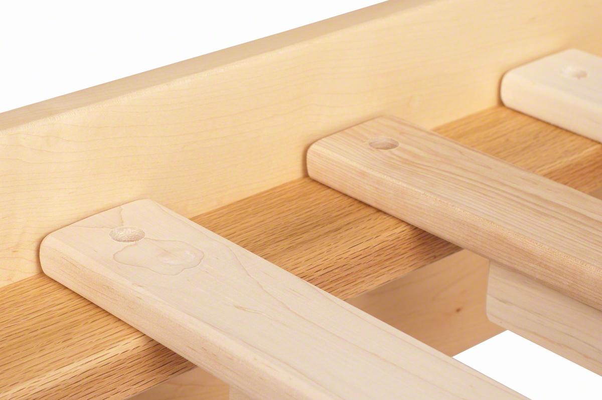 Shaker Platform Bed Solid Wood Platform Bed In The