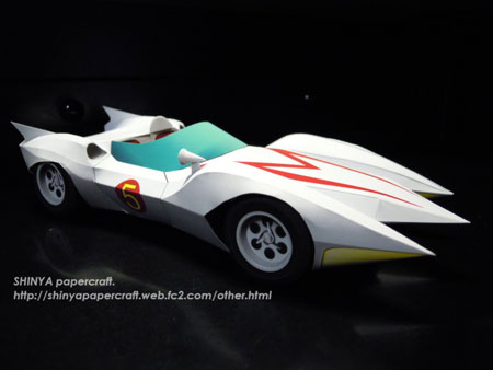 Speed Racer Mach 5 Papercraft