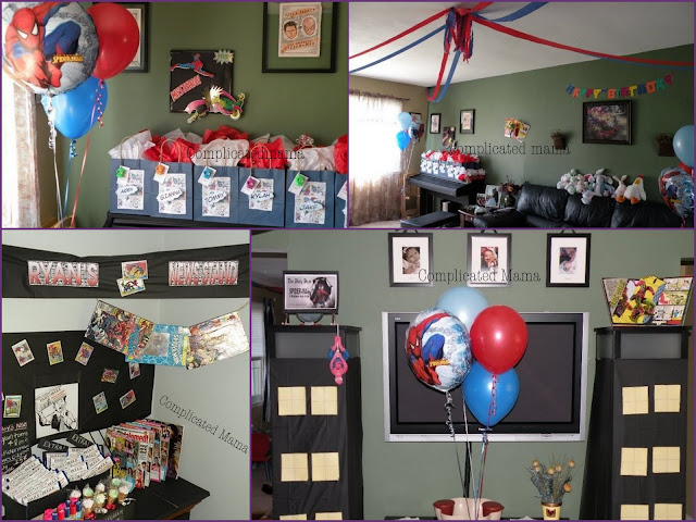Diy Spiderman Birthday Party Best Diy Do It Your Self
