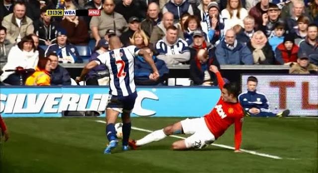 Robin van Persie, WBA - Manchester United