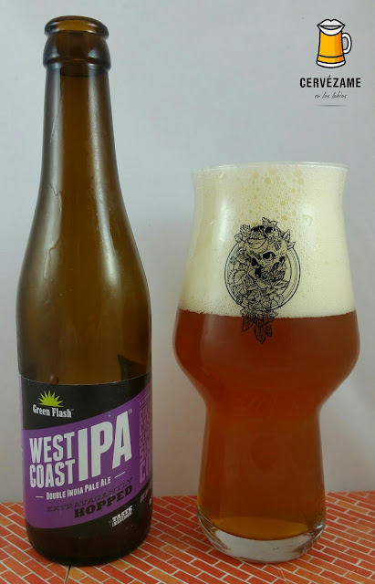cerveza beer  Green Flash West Coast IPA  (European Edition) cervezame en los labios