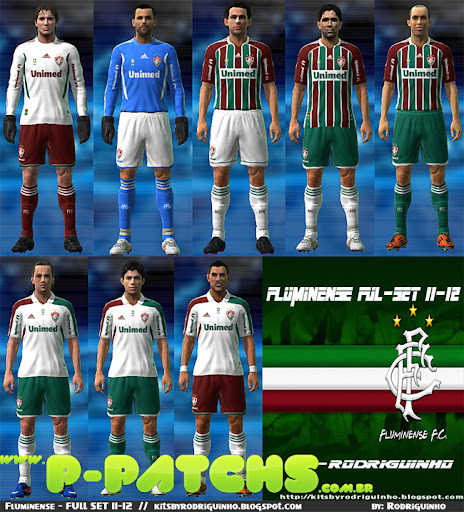 Fluminense 11-12 Kitset para PES 2011 PES 2011 download P-Patchs