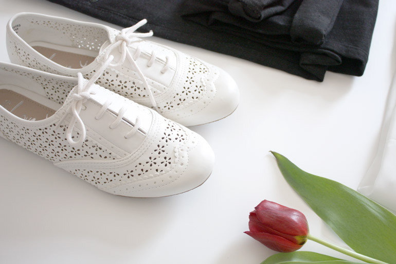 george at asda cut-out floral brogues