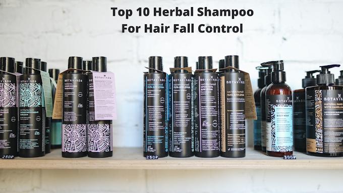Top 10 Herbal Shampoo For Hair Fall Control