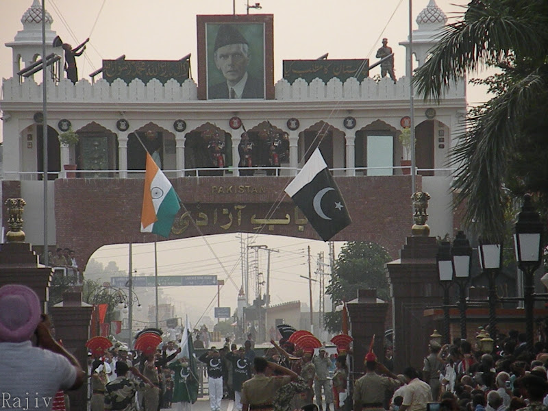 Well-synchronized Flag Lowering at the Wagah Border