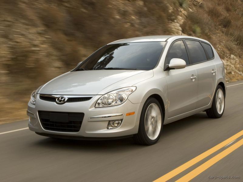 2011 Hyundai Elantra Touring Hatchback Specifications