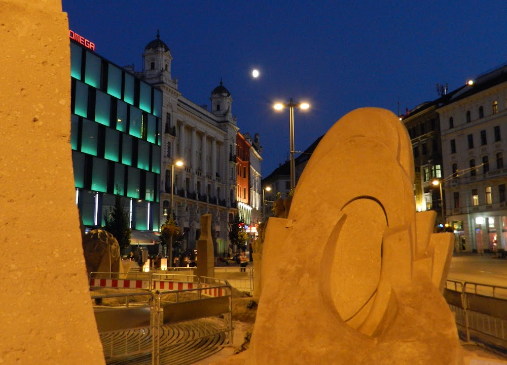 there was a sand sculpture exhibit on the plaza... how do they keep it from deteriorating?