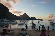our first night in El Nido