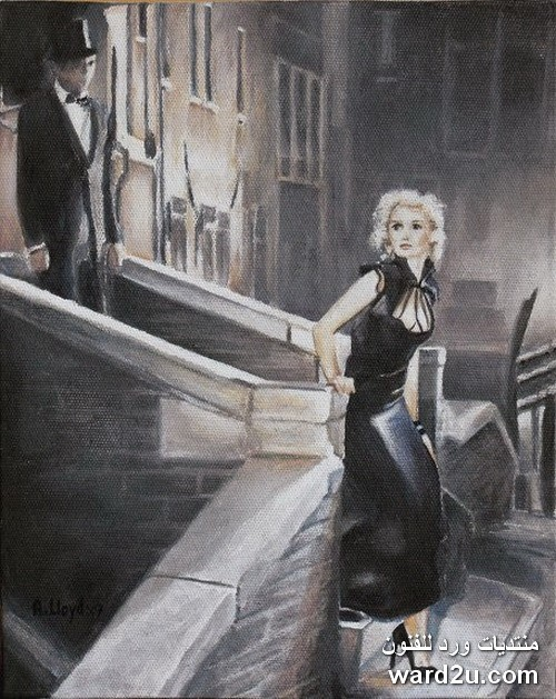 الواقعية الرومانسية فى روائع الفنان الانجليزى Andy Lloyd