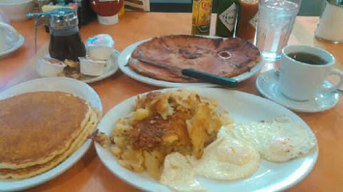 Greg's dinner at The Breakfast King! That's one order...