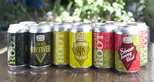 Forbidden Root Brewery Announces New Year-Round Beers and Transitions to All-Can On-Shelf Distribution