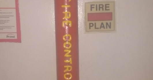 Fire Control Plan on Ship Content, Location, Symbol