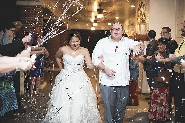 Traditional Filipino Catholic Wedding With Garden Details