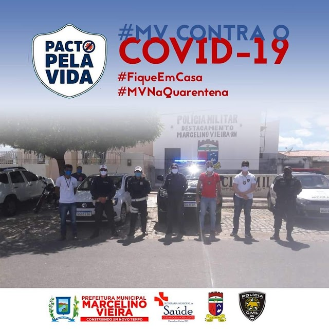 MARCELINO VIEIRA - RN NA LUTA CONTRA O COVID - 19