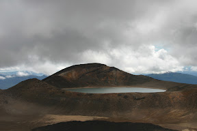 View of Blue Lake from Red Crater
