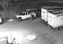 SUSPECT AT TRUCK