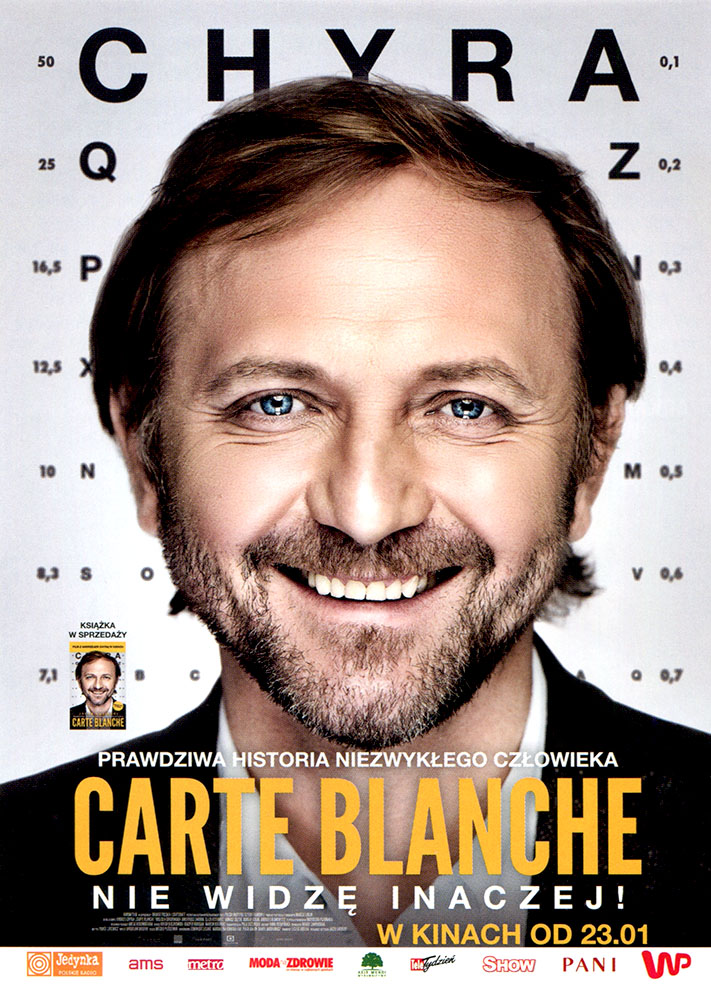 Ulotka filmu 'Carte Blanche (przód)'