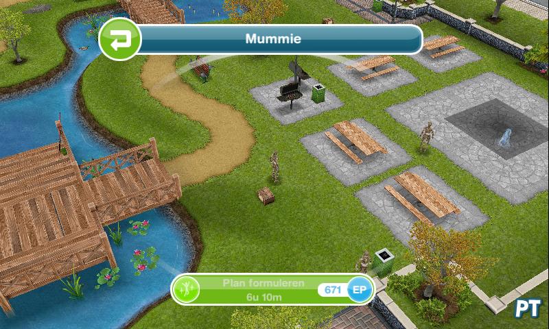Sims FreePlay mummie