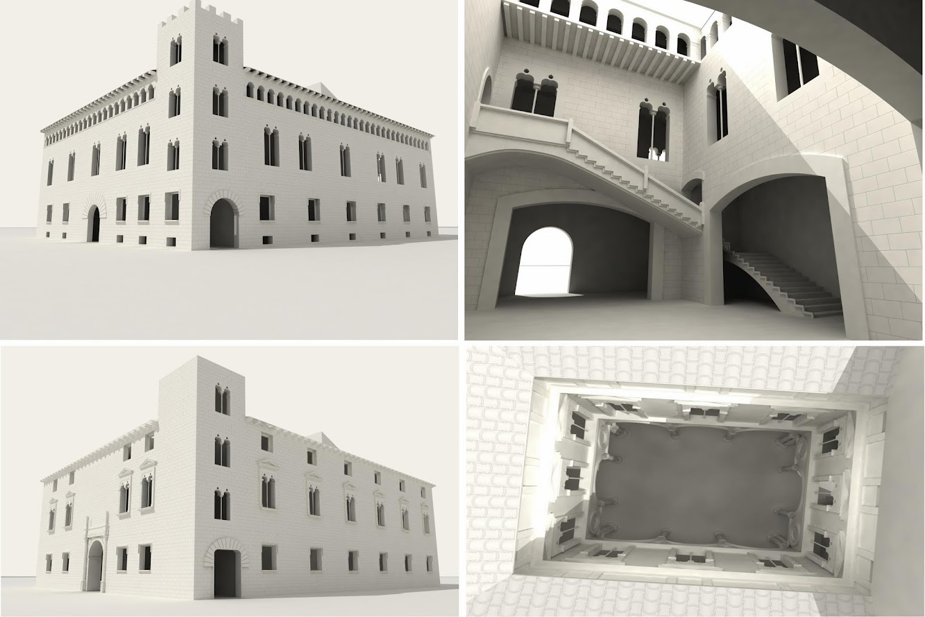 Southern Europe: New method for reconstructing historic buildings in 3D