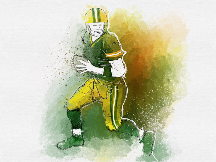 Green Bay made with Sketches