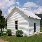 The little ole Gleaves Family schoolhouse!