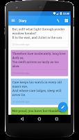 Screenshot of Miary — Private Diary