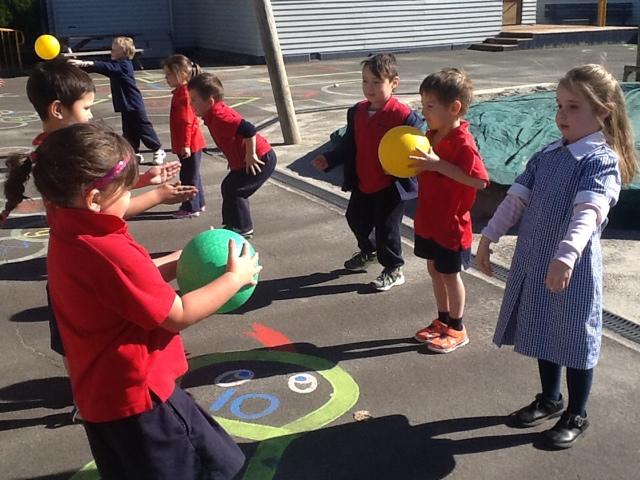 Westport South School Room 5: Large ball skills