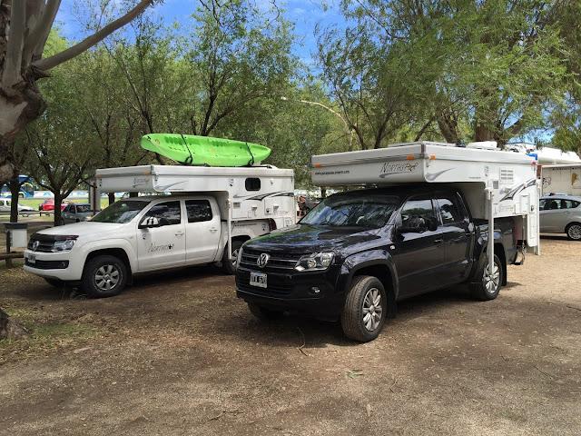 Campers Pop-up Techo Bajo, Estacionados