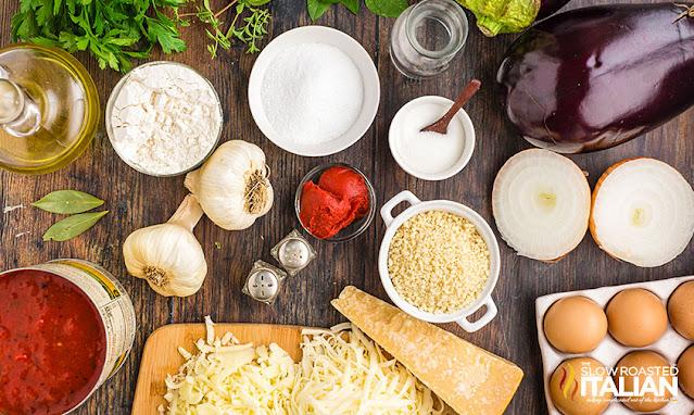 italian eggplant parmesan recipe ingredients