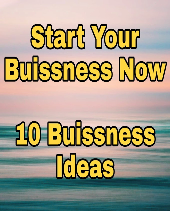10 Amazing ways to Start a Buissness in India - High Earning