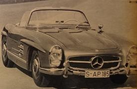 Mercedes 300 SL 1960