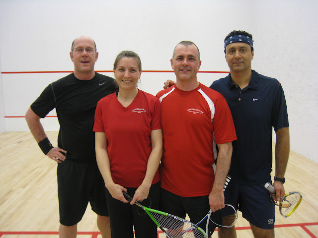 Open 5.5 Exhibition Players - Dave Heather, Wendy Ansdell, Paul Ansdell, Rachid Regragui
