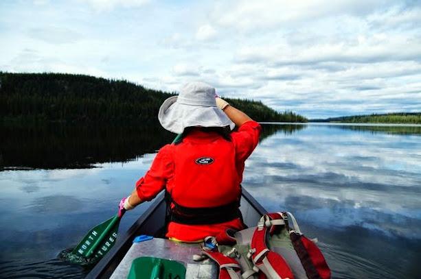 達人帶路環遊世界-育空河划船
