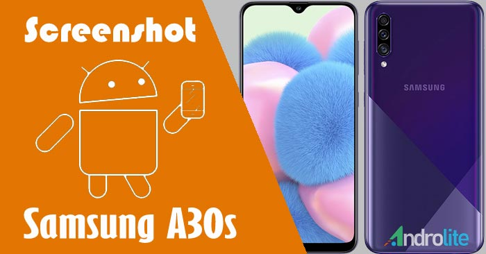 Cara Screenshot Samsung Galaxy A30s