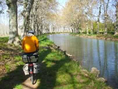 Canal du Midi bei Agde, Frankreich