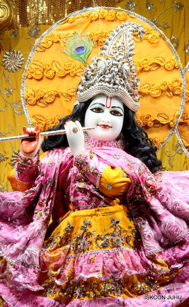 ISKCON Juhu Mangal Deity Darshan 29 Jan 2016 (17)