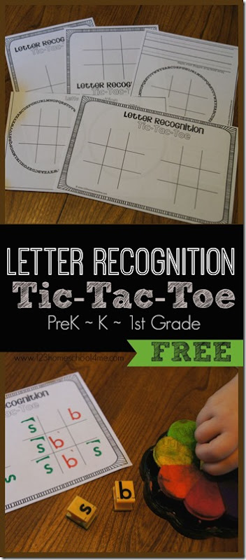 This simple, fun and effective letter recognition games is a great way for preschool, pre k, kindergarten and first grade students to improve letter recognition. Grab the template in the pdf file and have working on letter discrimination skills with your young learner.
