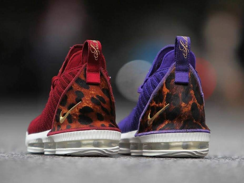 7f1ee5c99fba5 ... A Detailed Look at Nike LeBron 16 King Court Purple ...