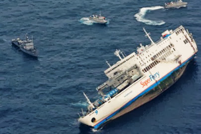 superferry9 mv thomas aquinas sinks at cebu 17 dead almost 600