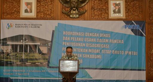 Penyusunan Disagregasi PMTB Kabupaten Sukabumi Tahun 2018