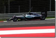 Nico Rosberg nelle prove libere del gran premio d'Austra 2016